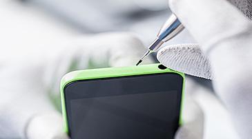 iphone 5c näytön vaihto